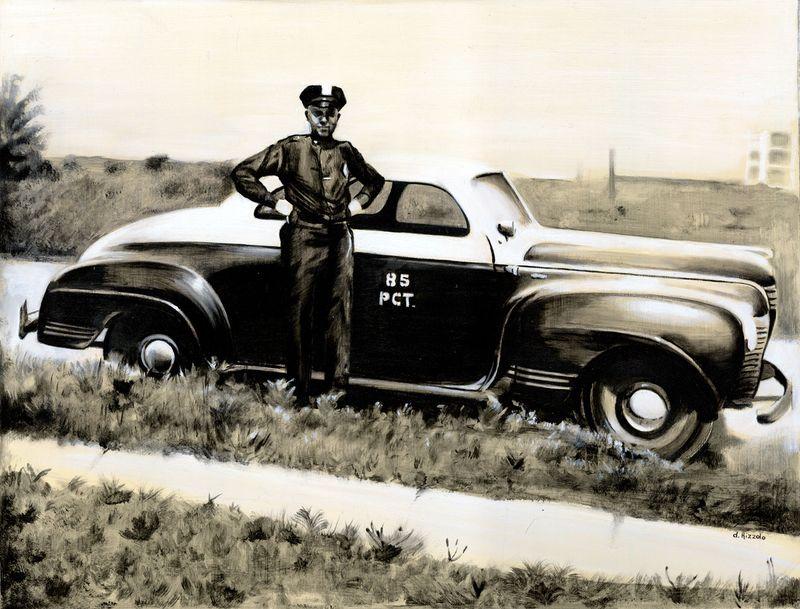 Policephoto11x14oilonwood